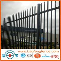 PVC Coated Ornamental Spear Top Security Steel Tubular Fence in Garden,Home,Factory, School ,Villa(Factory & Exporter)
