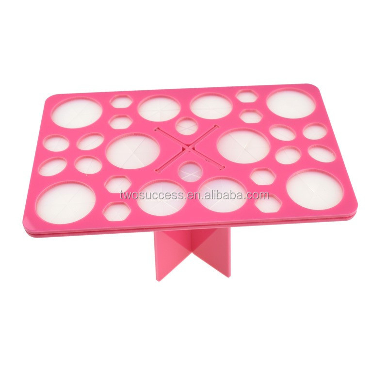 Pink Square Foldable Acrylic tools