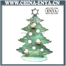 Candle stand Metal christmas ornaments