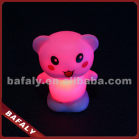 Promotion Luminous toy gift animal sensor night light,mini led baby night light,sensor night ligh