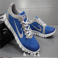 Hot Sales!2015 New Fashion Breathable Flat Sole Running Shoes Power Sport Canvas Sneakers