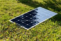 100W Semi flexible Sun power solar panels for RV,Marine