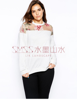 Женские толстовки и Кофты Lilacs 2015 T-shirt