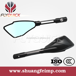 SF-079 Motorcycle Parts universal CNC aluminium mirrors motorcycle with black sliver gold orange for sale from china supllier