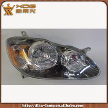 Tyota head lamp assembly halogen headlight for COROLLA 2005