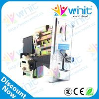 Low price cpu electronic multi coin mechanism / coin validator / coin mech spare parts for vending machine remote control