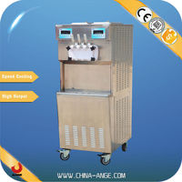 BXR-2258 China exported ice cream machine how to use this ice cream machine 3 flavor With 2 Embraco compressors