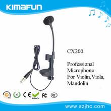 Instrumento micrófono para violines / mandolina funcionamiento de la etapa