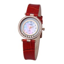 high quality vogue gold jewelry wrist watch water resistant stainless steel caseback mechanical watches women