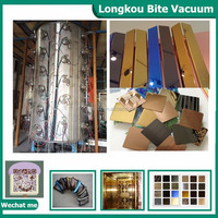 Titanium mirror gold coating machine/big size pvd coating equipment/titanium nitride coating for stainless steel sheet&pipe
