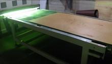 5mm 1220*2440 white color two side melamine veneer one side UV poplar and combin core melamine or phenol glue FOB Lianyungan