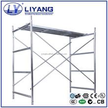 Ladder Frame Scaffolding System for building construction