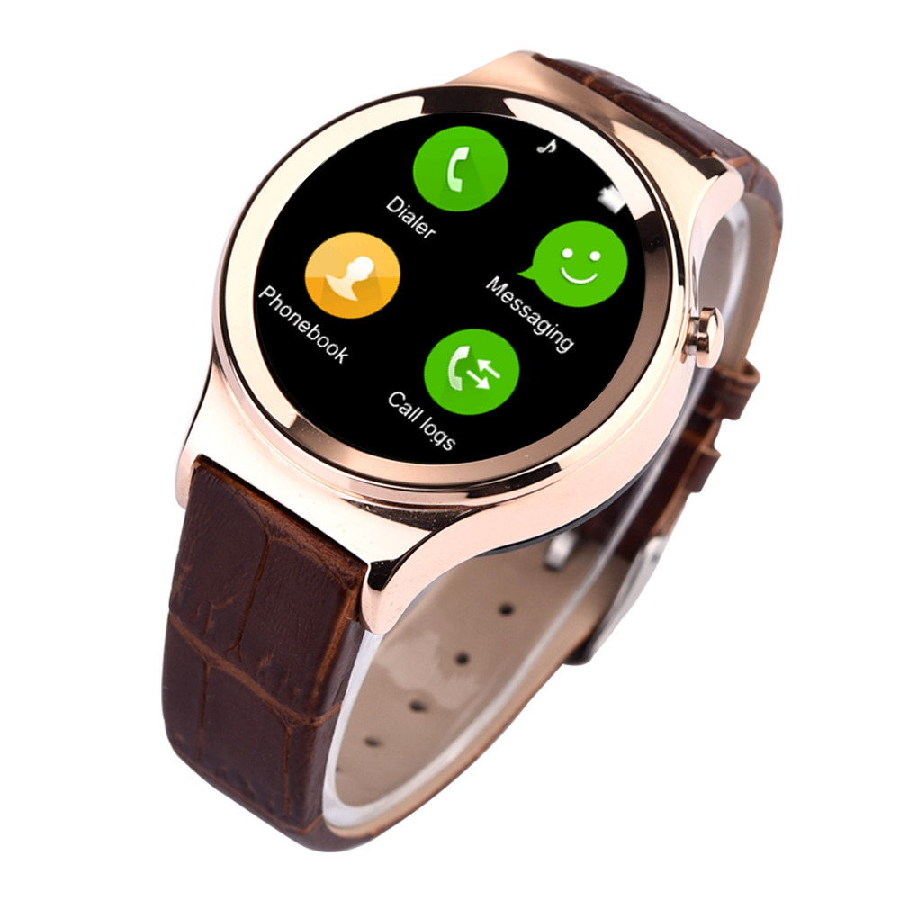Обзор умные часы с круглым циферблптом