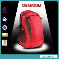 2015 newest manufacture bags real madrid sports cheap hiking backpack