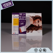 Yesion Professional Waterproof RC Satin Photo Paper, 3R 4R 5R A4 RC Photo Paper For Inkjet Photo Printers