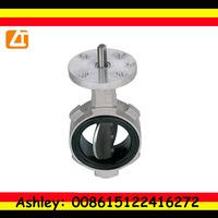 bs standard cidi aluminium body butterfly valve