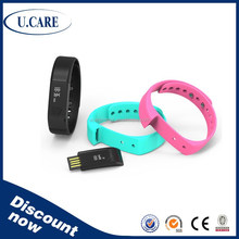 2015 hot sales bluetooth vibrating bracelet, fitbit tracker, led bluetooth bracelet