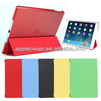 Hot selling Ultra thin Stand leather cover case for iPad air , for apple iPad air protective cover
