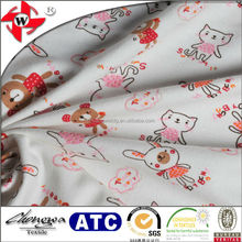 Chuangwei Textile Sweet Friends All-over Printed Cotton Baby Quilting Fabric