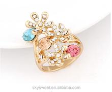 rose cut diamond ring jewelry ,latest design diamond ring(swtaa1066)