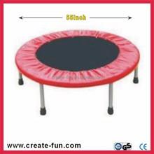 CreateFun round home gym 55inch indoor trampoline, mini trampoline, fitness trampoline