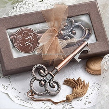 wedding gift and souvenir--Key to My Heart Collection key design antique Victorian Style key bottle opener