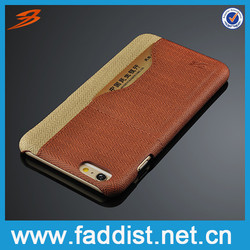 Leather cheap mobile phone case for iphone 6s plus