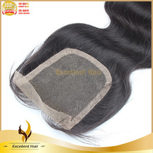Factory Direct 100% Human Hair Lace Closure 6x6 Body Wave Full Lace Closure