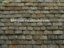 Natural shingles textured background weathered stone lightweight roof tile
