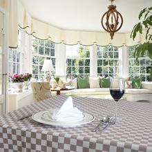 restaurant hot sale pure cotton jacquard table cloth