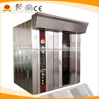 CE APPROVAL gas or electrical bread and pizza grey stainless steel convection rotary baking oven for sales
