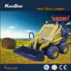 EPA/CE certificated mini wheel loader quick hitch Farm machine:tiller/ripper/leveler