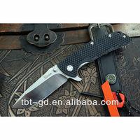 Global Knives Kizer Ki404B1 Blue Folding Knife VG-10 Blade 6AL4V Titanium + G10