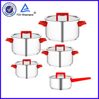 18/10 stainless steel super capsule bottom cookware pot