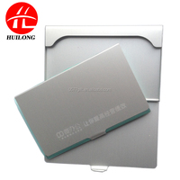 Huilong custom laser logo aluminum card holder,card case ,case wallet