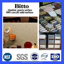 non-porous quartz stone for countertop,wall tile,kitchen top