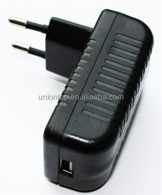 China Factory Price single output portable 12v 1a phone usb adapter without cable