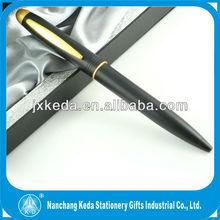 matt black color metal ballpoint pens