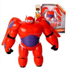 "Big Hero 6 Transform Assemble Toy Fat Balloon Man Doll Baymax 6.3"" Toy Action figure"