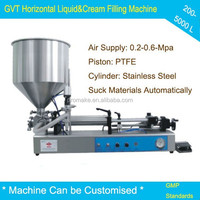 High quality spout bag / uht milk / nutella filling machine