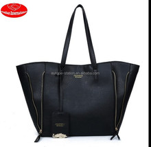 large size tote Top quality PU handbag / fashion style handbags/brand design tote hand bags