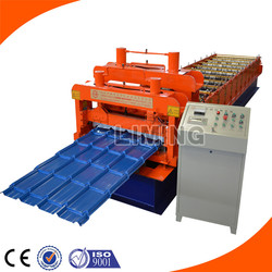Glavanised Steel Roofing Step Tile Cold Making Machine/Zinc Glazing Step Tile Manufacturing Machine