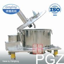 PGZ Vertical Basket Automatic Bottom Discharging Filter Centrifuge for Salt Cake Separation
