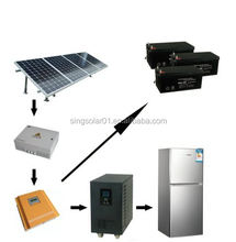 Solar Power System with Solar Panel / Battery / Inverter / Solar Controller