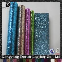 2015 fashion shoe material textile wholesale PU textile fabric vinyl upholstery vinyl