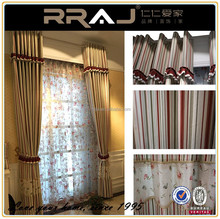 Living room cotton curtain for home decoration