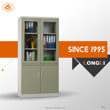 New Structure Fully Open Door Super Quality KD Models Office Filing Cabinet/Small Cabinet With Glass Doors
