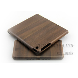 Factory Whosale real wood bamboo case for iPad wooden case