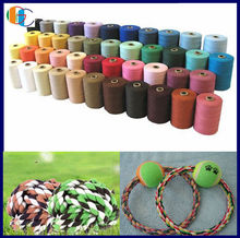 recycle yarn for knitting/recycle cotton polyester blended yarn/cheap recycle yarn