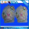 Lovely type plastic bag custom shape plastic bag/Plastic material special packing bag